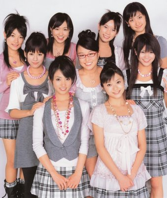 Members of Idoling!!! (late 2007)