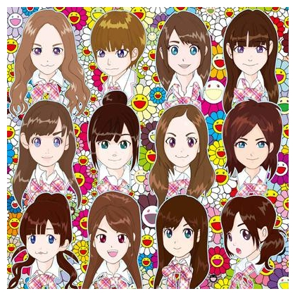 CD Cover for the new AKB48 single - Namida Surprise